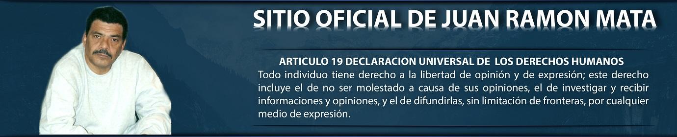 Juan Ramón Mata - Sitio Oficial